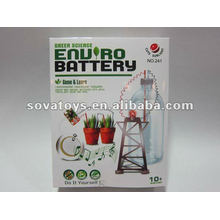 Green Science DIY bateria conjunto
